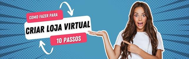 Como criar loja virtual